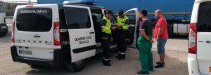 Pillan en un día a una veintena de camioneros conduciendo drogados en la Región de Murcia